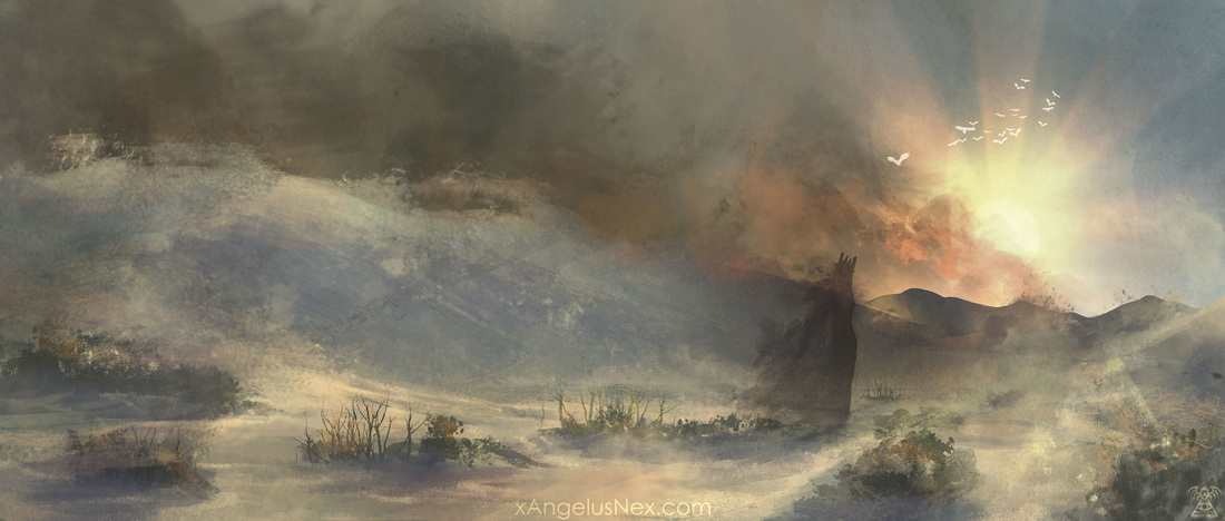 DISAPPEARING INTO THE SANDSTORM by Valentina Filic